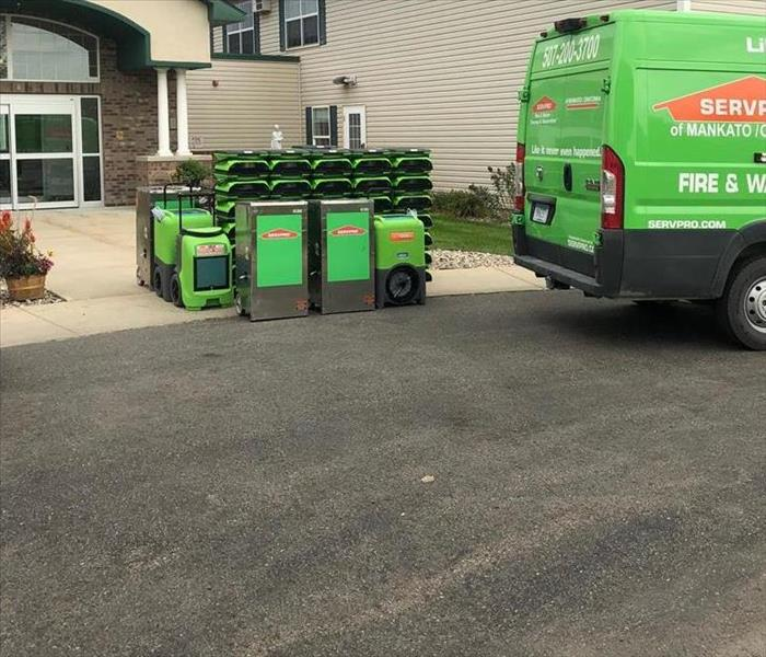 Commercial SERVPRO IS READY TO HELP