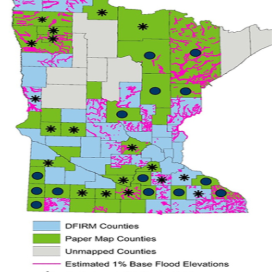 Flood Map MN